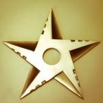 L'étoile noir centrée sur Lausanne
